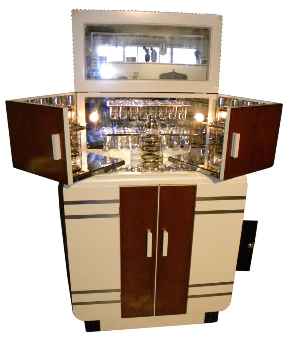 art deco furniture sold bars art deco collection. Black Bedroom Furniture Sets. Home Design Ideas