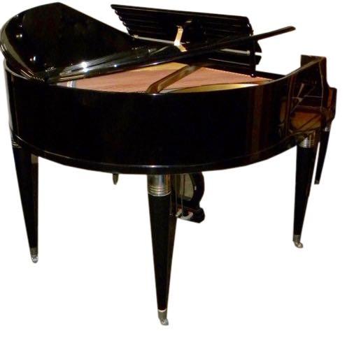 wurlitzer butterfly piano baby grand art deco streamline pianos art deco collection. Black Bedroom Furniture Sets. Home Design Ideas