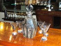 Best Czech Decanter with Six Glasses