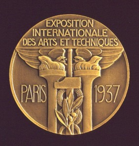 1937 Exposition Medal