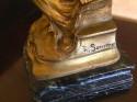 Art Nouveau Bronze Sculpture of