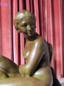 Art Deco Woman- Sculpture by Bouraine