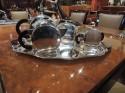 Art Deco Round Tea and Coffee Set Christofle