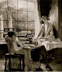 1920's Tea Service