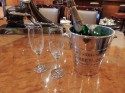 French Silver Champagne Bucket from Pommery & Greno,