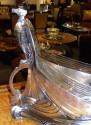 Art Nouveau Silver Eagle Centerpiece by WMF