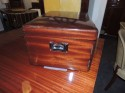 Christofle Art Deco  Silver Set in Wooden Chest