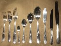 Christofle Silver Set in Chest/Table