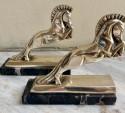 Jacque Cartier French Art Deco Horse Bookends