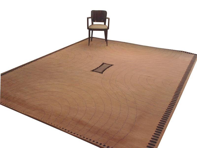 Art Deco Collection Custom Carpet Ruhlmann Circles and Waves