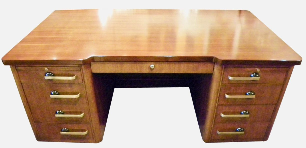 Professional Art Deco Desk By Stow And Davis