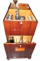 Art Deco Flip Cocktail Cabinet