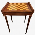 Art Deco Game Table Complete with Chess,Roulette, and More!