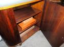 Art Deco Macassar and Pergamino Buffet Cabinet