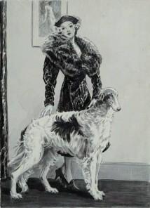 Richie Borzoi Dog