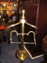 Brass Valet Clothing Stand