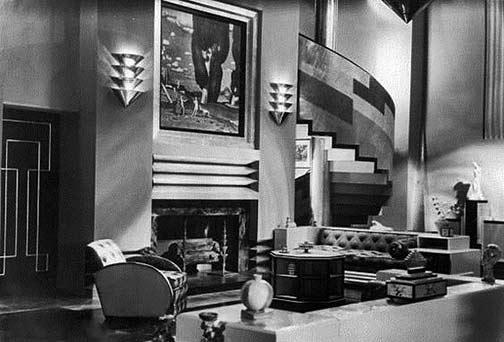 Gorgeous Art Deco Living Room