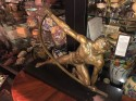 "Jean de Roncourt strongman ""The Bender"" French Art Deco Statue Rare Bronze Edition"