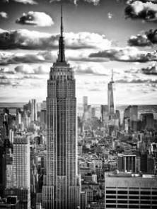 Skyscraper Streamline Vintage Pair of Machine Age Sconces Restored