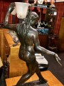 Classic Female Art Deco Statue by Listed Belgian Artist M. D'Haveloose