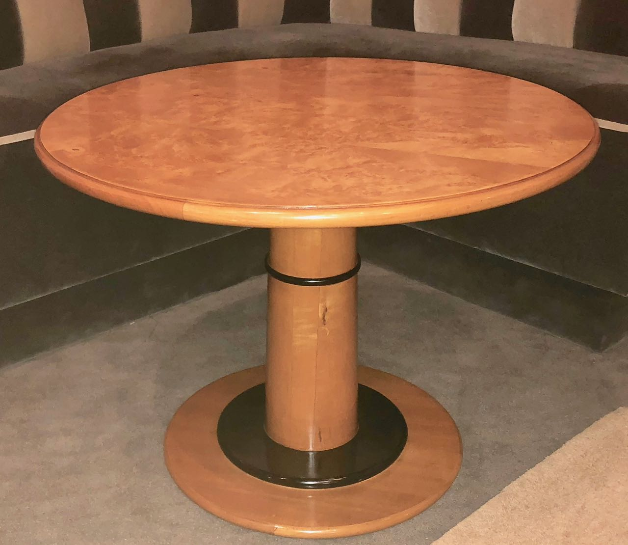 Art Deco Custom Round Coffee Side Table Small Tables