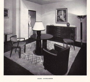 Room Designed by Jules Leleu