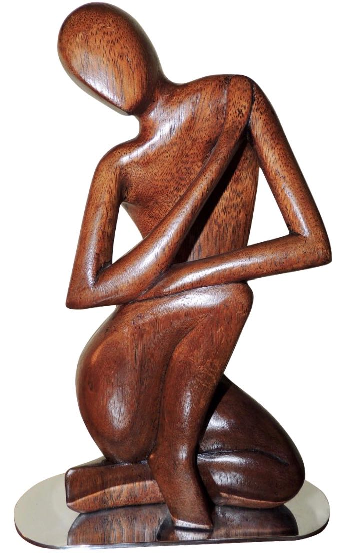 Hagenauer Modernist Sculpture in Wood