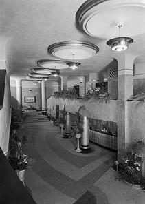 Modernest Art Deco Stepped Copper Bronze Chandelier