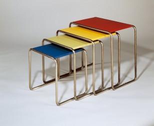 Czech Bauhaus Streamlined Tubular Chrome Table or Plant Stand
