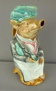 Frie-Onnaing-majolica-pig-waiter-pitcher