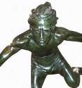 Chiparus Jumper Hurdle Male 1930's Art Deco Sculpture