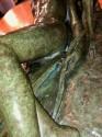 Ary Bitter Reclining Diana with 2 Greyhounds Bronze Art Deco Sculpture