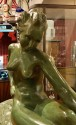 Art Deco Female Bronze by Paule Bisman Serenite