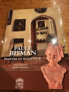 Art Deco Female Bronze by Paul Bisman Serenite