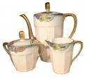 Limoges French Art Deco Coffee Tea Service for 12