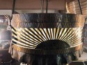 Amsterdam School of Design Original Chandelier Art Deco