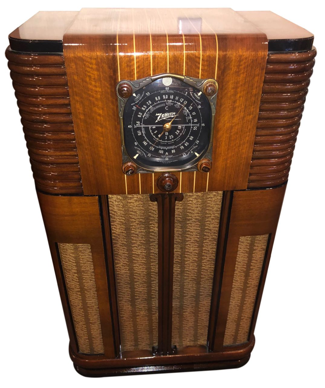 Zenith 10-S-160 Console (1937) Restored Radio Bluetooth