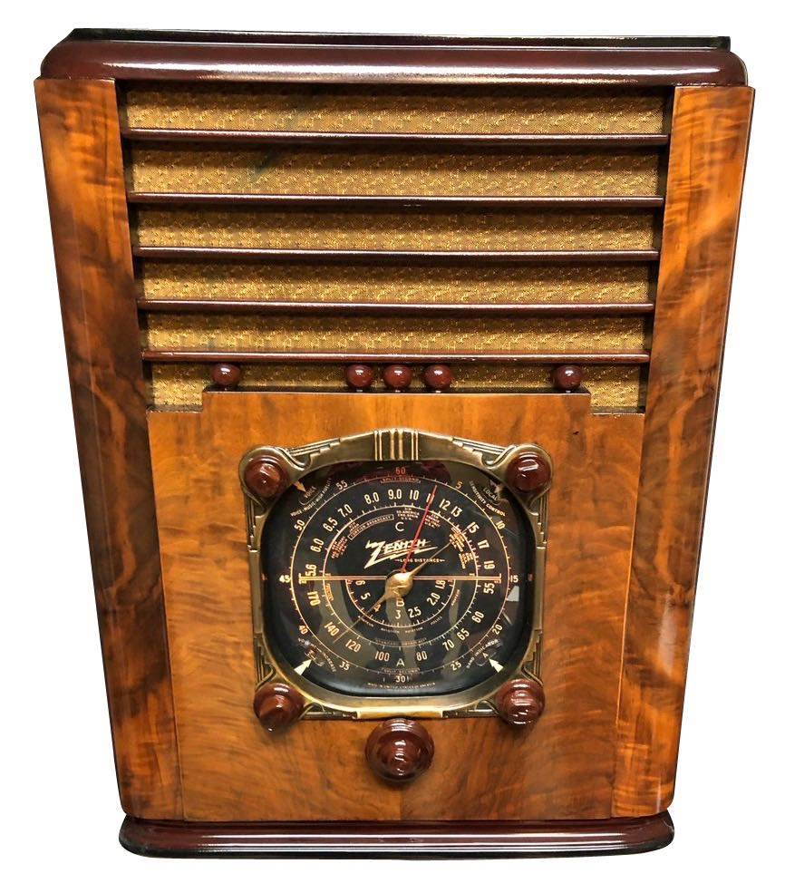 Zenith Art Deco Radio 6-S-128 Tombstone (1937) Bluetooth