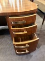 Professional Art Deco Mid Century Desk by Stow and Davis