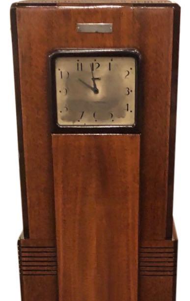 Raymond Loewy for Westinghouse Columaire Skyscraper Grandmother Clock/Radio