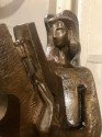Jan & Joel Martel Art Deco Bronze Cubist Angel Monumental 2 of 8