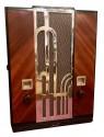 Art Deco Chrome Majestic #161 Restored Tube Radio Bluetooth