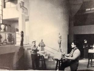 Jan & Joel Martel Art Deco Cubist Bronze Angel Monumental 2 of 8