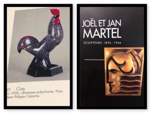 Jan & Joel Martel Art Deco Bronze Rooster 1 of 8