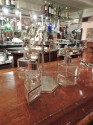 Silver and Glass Swingout Tantalus