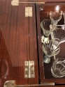 Art Deco French Style Pop Up Bar with Glassware