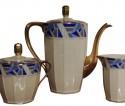 Art Deco Limoges Coffee Tea Dessert Set