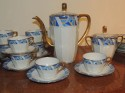 Art Deco Limoges China  Coffee Tea Dessert Set