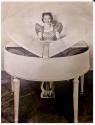 Wurlitzer Butterfly Baby Grand Piano Art Deco Streamline