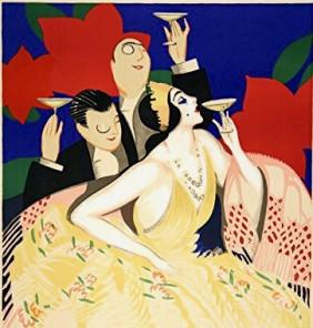 Champagne Poster Mazan